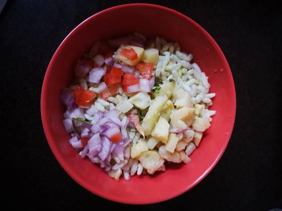Dahi Bhel Recipe | Dahi Papdi Bhel | Papdi Potato Curd Bhel / indian street food / recipe of dahi bhel