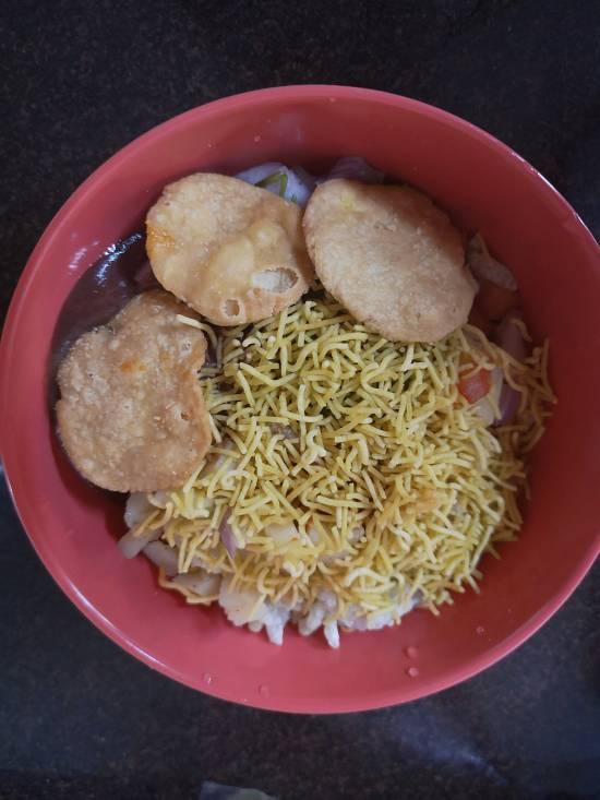 Dahi Bhel Recipe | Dahi Papdi Bhel | Papdi Potato Curd Bhel / recipe of dahi bhel / indian street food