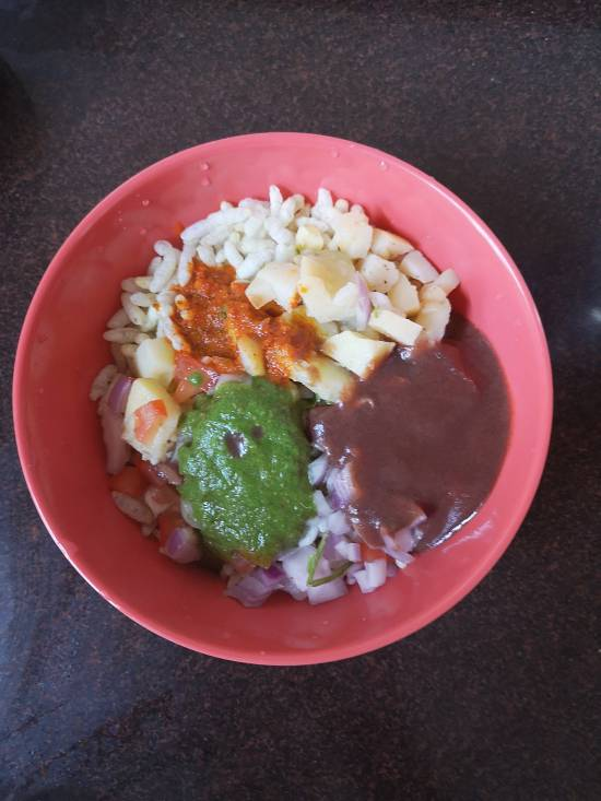 Dahi Bhel Recipe | Dahi Papdi Bhel | Papdi Potato Curd Bhel / recipe of dahi bhel / how to make street side dahi bhel / mumbai street food
