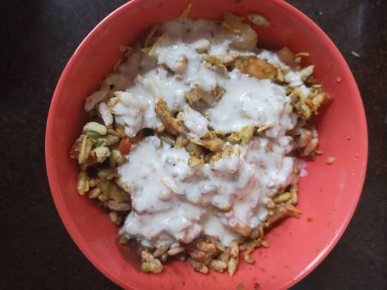 Dahi Bhel Recipe | Dahi Papdi Bhel | Papdi Potato Curd Bhel / recipe of dahi bhel / street food