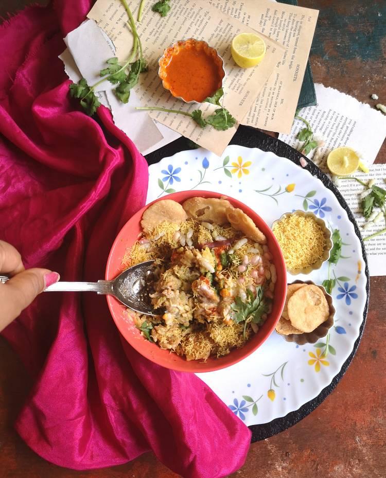 Dahi Bhel Recipe | Dahi Papdi Bhel | Papdi Potato Curd Bhel