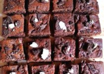 Eggless Oreo Brownies