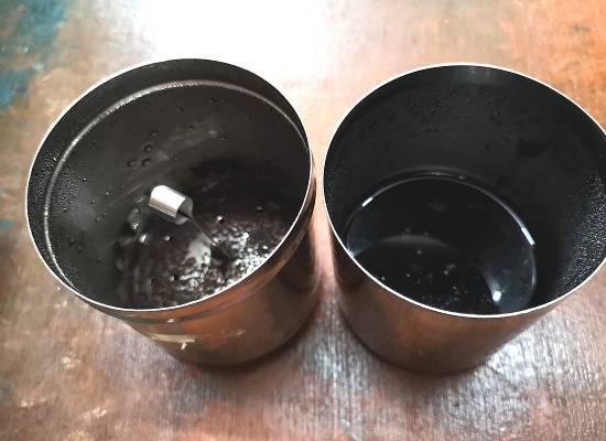 liquid coffee for Filter Coffee Recipe / Traditional South Indian Filter Coffee Recipe / filter coffee recipe | filter kaapi recipe | south indian filter coffee