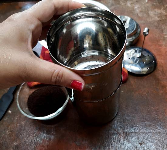 How to use filter for Filter Coffee Recipe