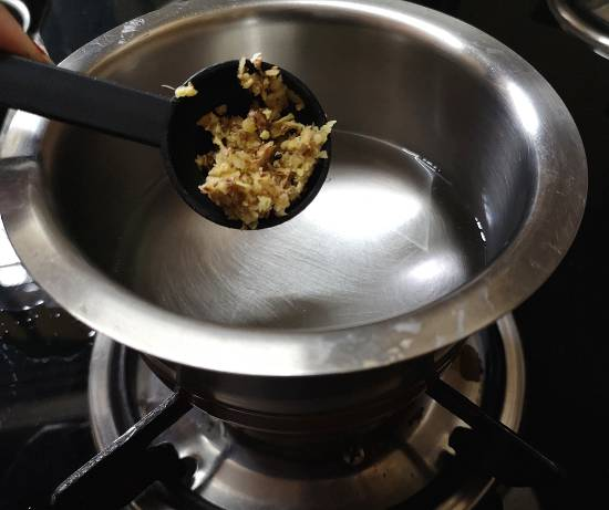 adding fresh ginger to ginger tea recipe | adrak wali chai recipe