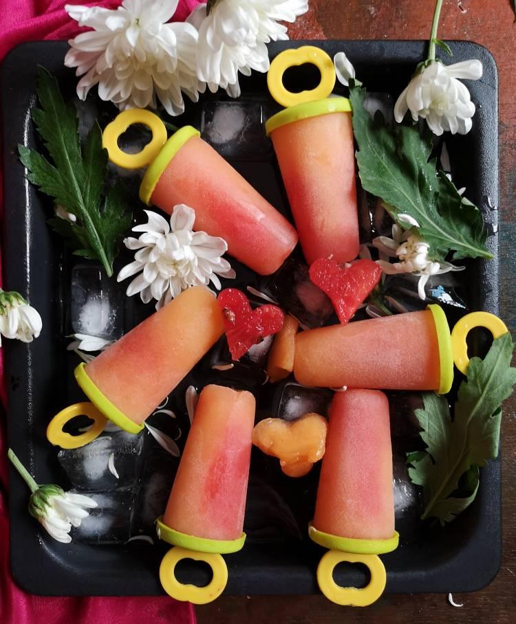 Melon Popsicles