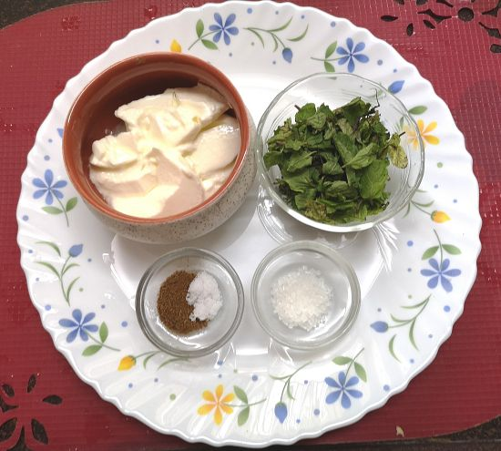 mint-raita-Step-by-step-1