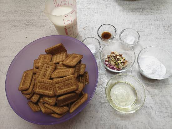 ingredients used for parle g cake