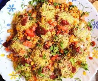 recipe of sev puri, Mumbai Sev Puri