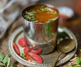 tomato rasam recipe, how to make tomato rasam