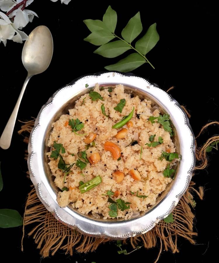Upma Recipe, How to cook Upma at home, South Indian Style Upma Recipe