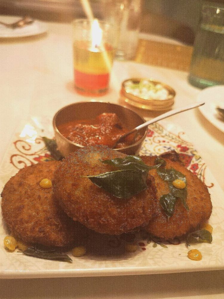 Yam Cutlets at Tanjore