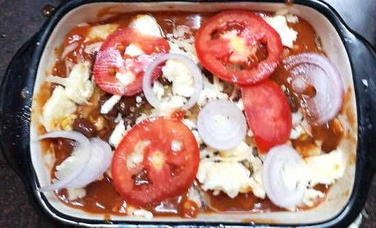 cheesy beans and corn enchiladas recipe