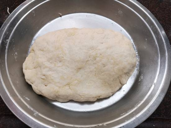kneading the dough for Mexican Flour Tortilla Recipe | Flour Tortillas