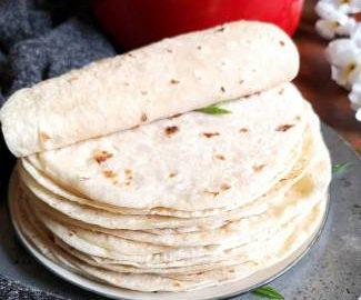 Mexican Flour Tortilla Recipe | Flour Tortillas