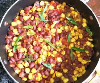 mexican beans and corn Recipe