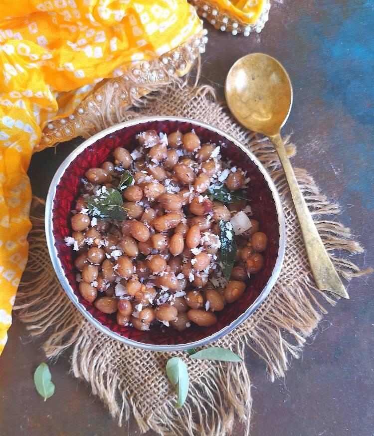 Peanut Sundal | verkadalai sundal | nilakadalai sundal ready to serve
