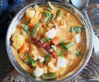 recipe of veg kurma, how to make vegetable korma