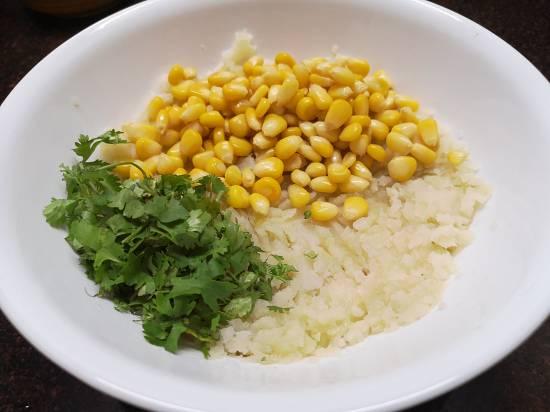 ingredients for Recipe of Sweet Corn tikkis | Sweet Corn Pattice Recipe