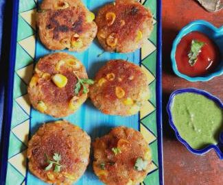 Recipe of Sweet Corn tikkis | Sweet Corn Pattice Recipe
