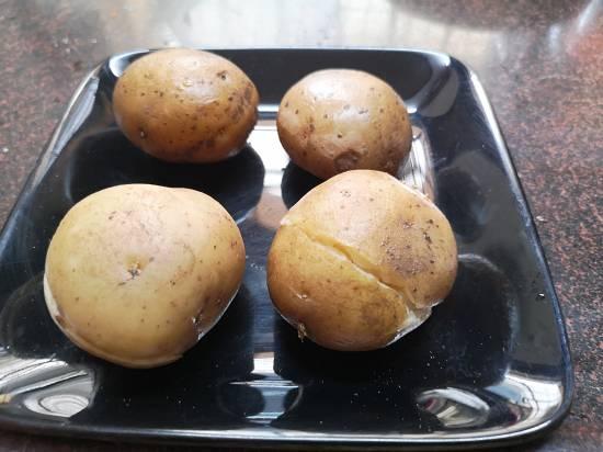 Boiled potatoes for vrat wale aloo ki sabzi