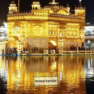 Golden Temple in Amritsar, a place with cultural abundance