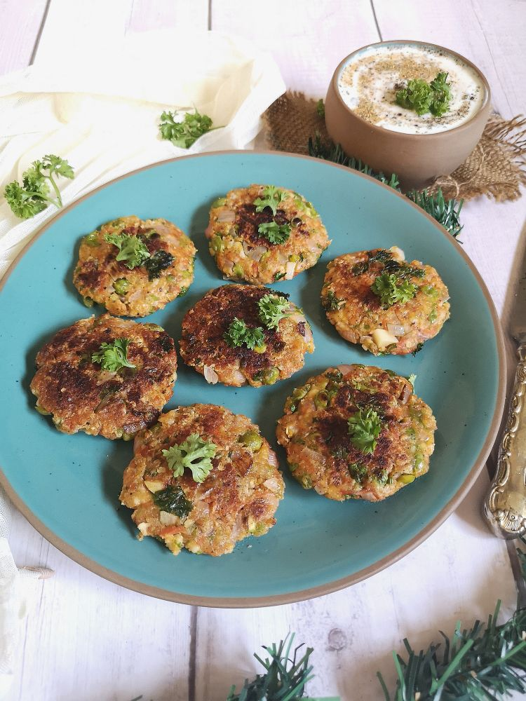 Carrot and Peas Fritters, Nutritious Fritters Recipe