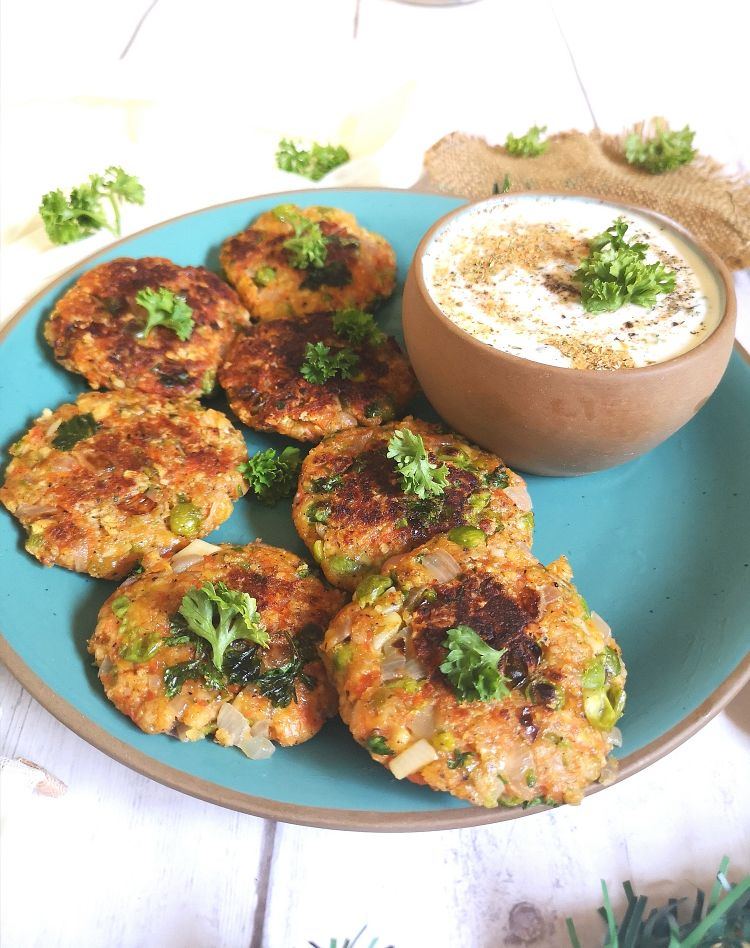 How to make Carrot and Peas Fritters, Carrot recipe to prevent cancer