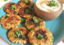 Carrot and Peas Fritters