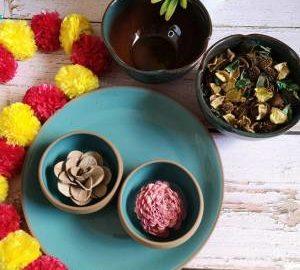Ceramic plates, katoris and bowls from ExclusiveLane