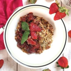 Recipe of Strawberry Oats Crumble, Recipe of Strawberry Oats Crumble