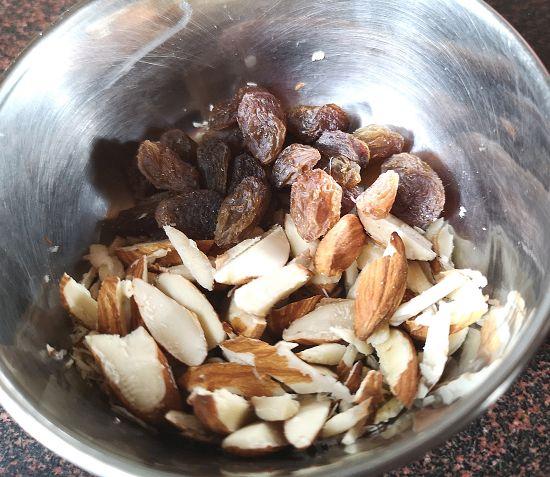 dry fruits for gajar halwa