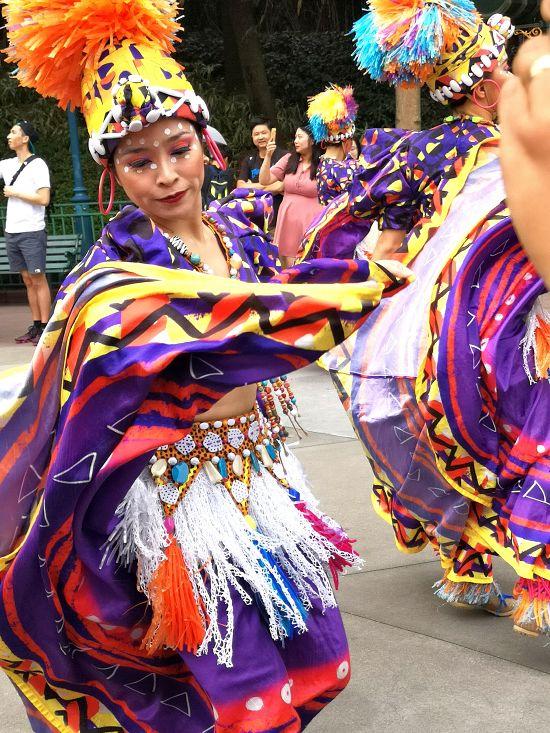 Mickey's Halloween Street Party at Hong Kong Disneyland