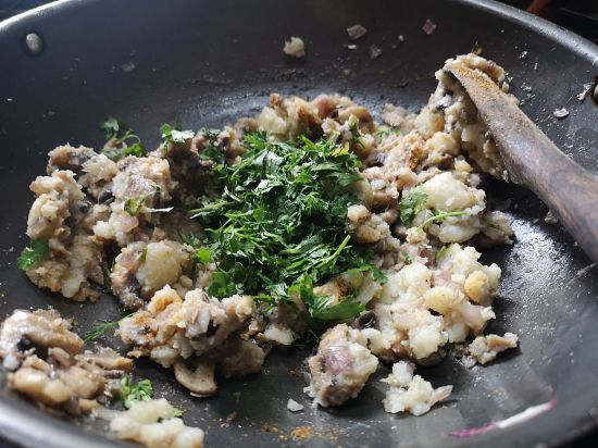 recipe of mushroom cutles