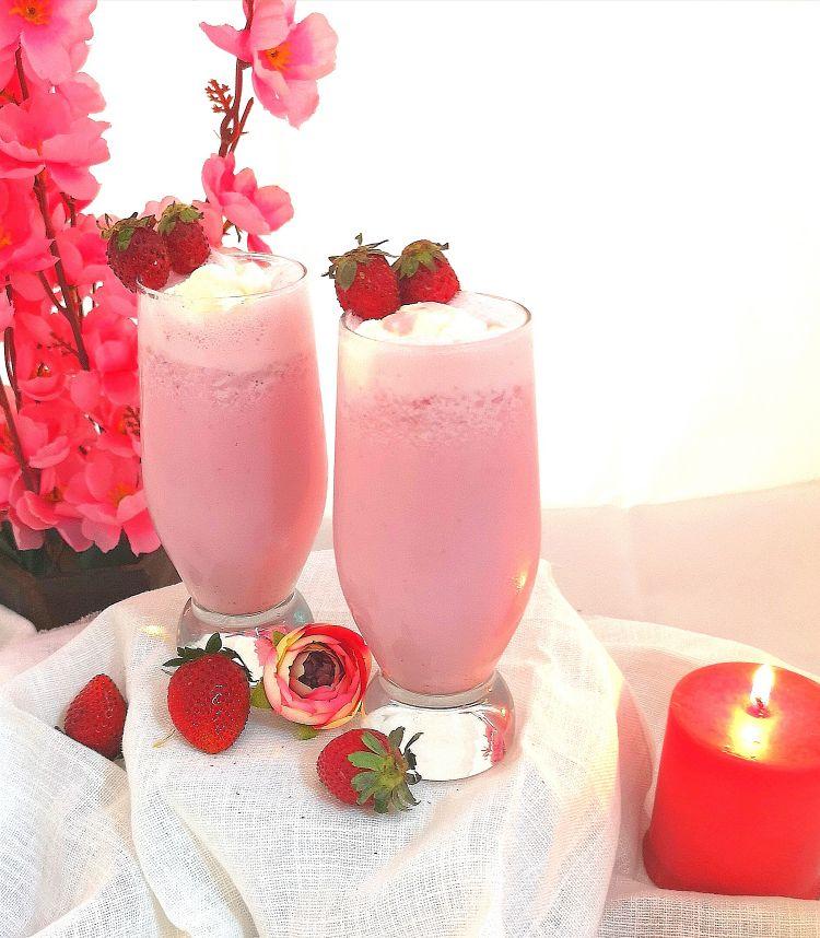 recipe of strawberry milkshake