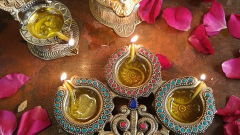 Brass Diyas from Tokenz, online gifting store tokenz