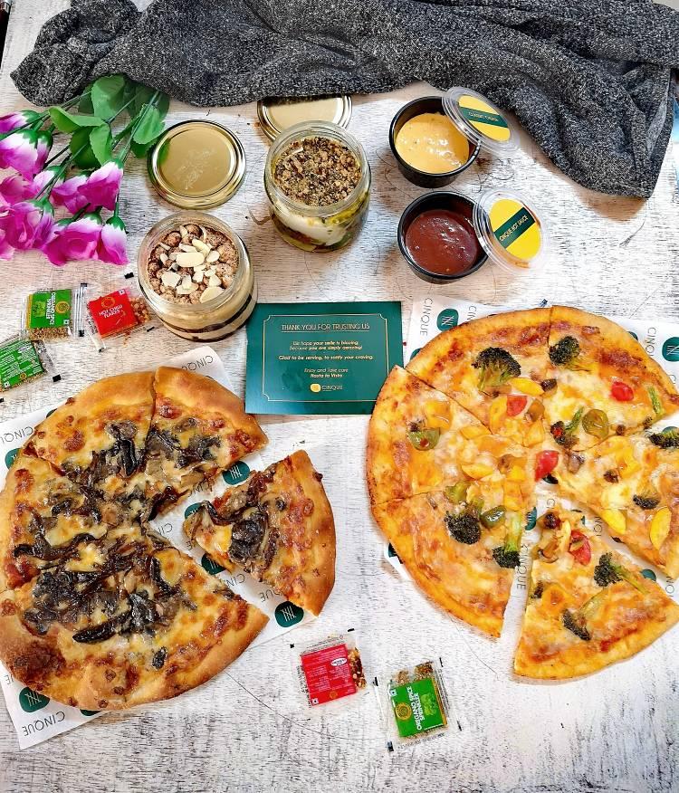 Cinque, Pizzas, Pastas and More