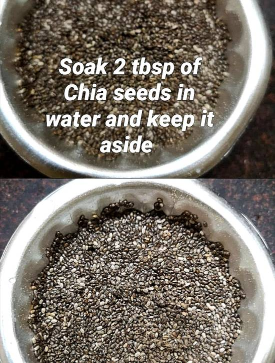 Chia seeds for preparing Chia Pudding