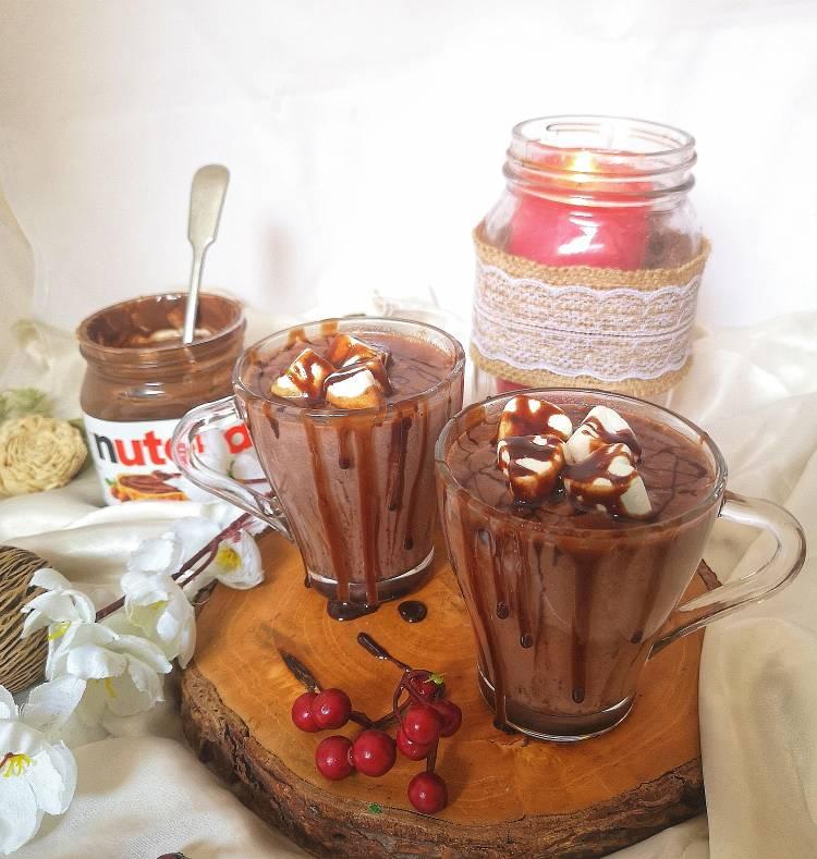 nutella hot chocolate