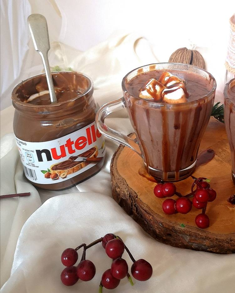 How to make Nutella Hot Chocolate Recipe, Nutella hot chocolate recipe