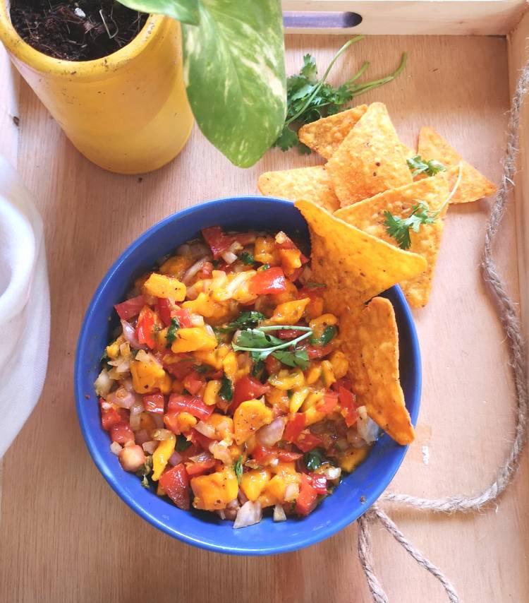 Mango Salsa Recipe, Mango Mexican Salsa Recipe