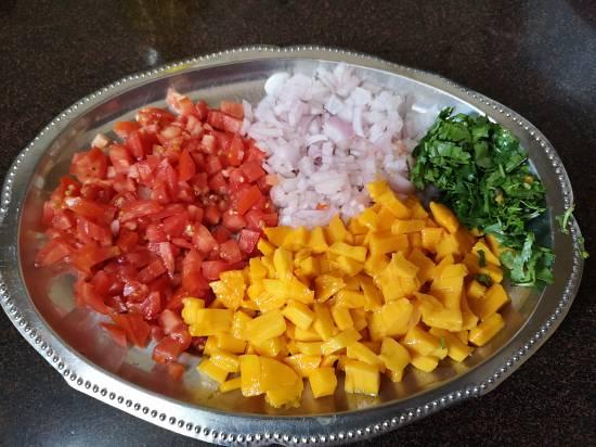 Ingredients for Mango Salsa Recipe