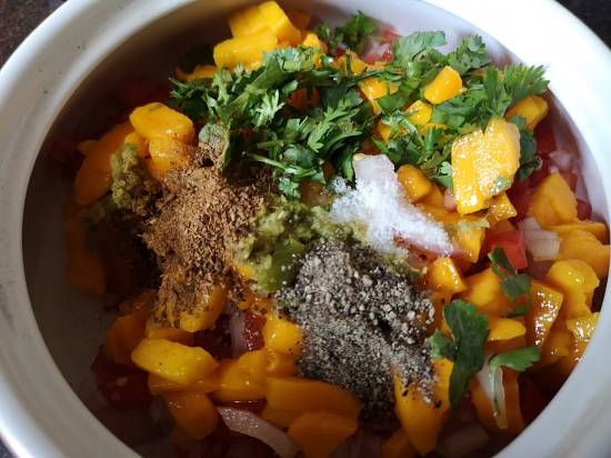 Spices for Mango Salsa